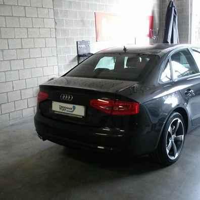 Audi a4 trekhaken verticaal afneembaar