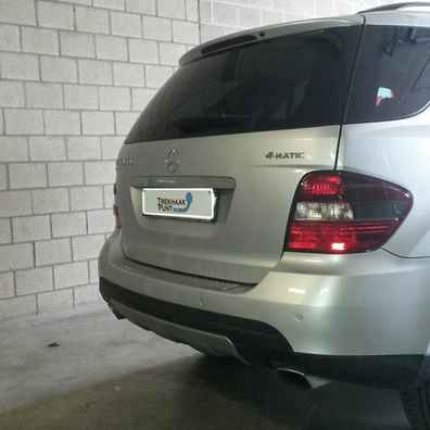 Mercedes ML trekhaak Verticaal afneembaar