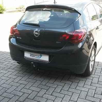 Opel Astra J 5d trekhaak afneembaar