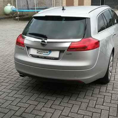 Opel insignia stationwagen trekhaak afneembaar