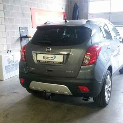 Opel mokka trekhaken afneembaar