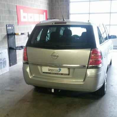 Opel zafira B trekhaken Horizontaal afneembaar