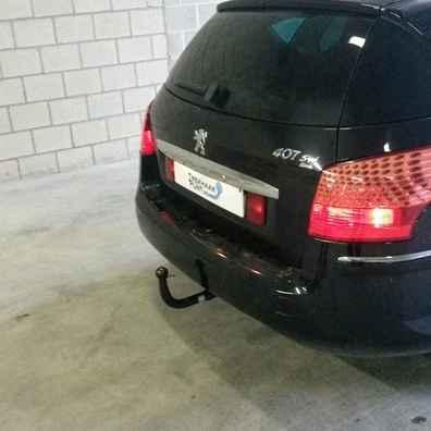 Peugeot 407sw trekhaak afneembaar