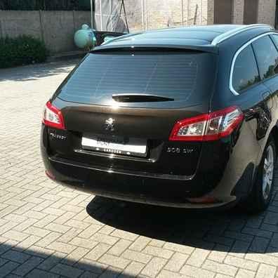 Peugeot 508sw trekhaak afneembaar