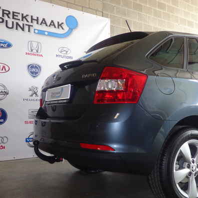 Trekhaak skoda rapid Hatchback