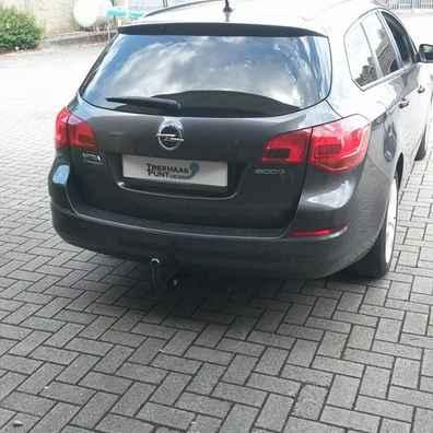 Opel astra sportstourer verticaal afneembaar trekhaak