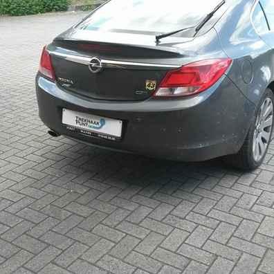 Opel insignia 4deurs trekhaak afneembaar