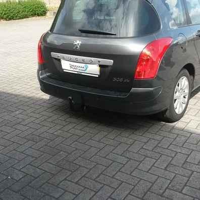Peugeot 308 trekhaak afneembaar