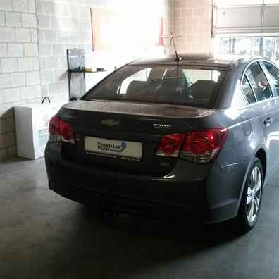 Trekhaak chevrolet cruze sedan afneembaar