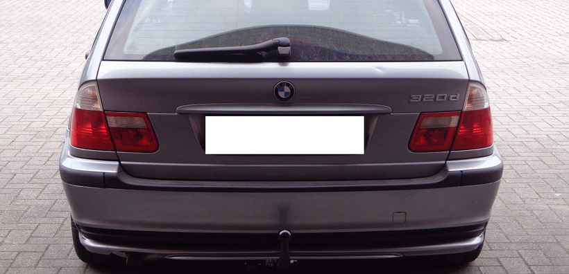 Vaste trekhaak Bmw 3 serie