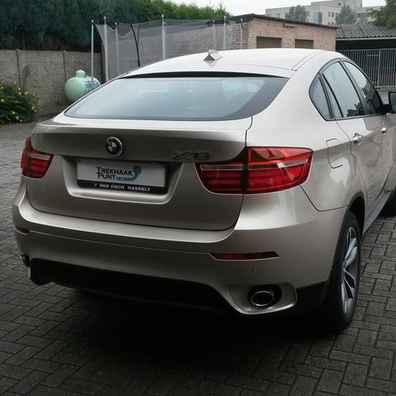 Verticaal afneembare trekhaak BMW X6